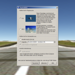 Flugsimulator in Google Earth