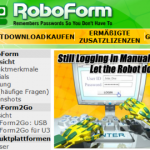 Passwortmanagement mit Roboform