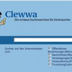 Clewwa die Verbrauchersuchmaschine