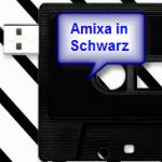 USB-Tape von Amixa in schwarz