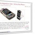 Ein Artikel aus dem Ausgefallenesachenblog ueber das Schutz-Case fuer iPhone