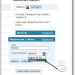 Sidebar-Widget fuer WeatherIcon