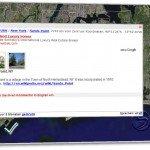 Kartenansicht mit Details in Wikimapia