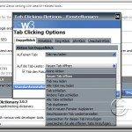 Tab-Verwaltung in Firefox mit Tab Clicking