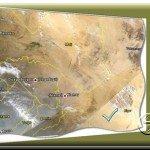 Afrika vor 24 Stunden in Google Earth