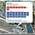 Reisedetails und Fahrplan am Zuericher Hauptbahnof mit Google Transit