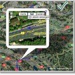 Google Transit Routenansicht