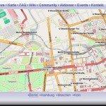 GPS-Karten und Geomapping