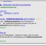 Websuche mit Wikia Search