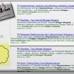 Websuche mit SearchCloud