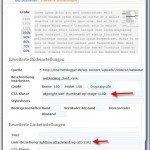 Einstellungen beim Bildeinfuegen in WordPress