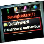 SMS-Authentisierung bei DataInherit