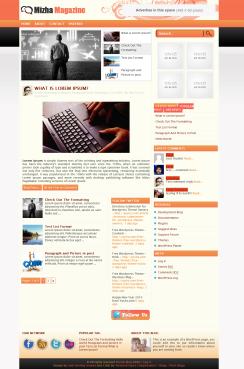 125x125 Ads WordPress-Theme