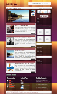 125x125 Ads WordPress-Themes
