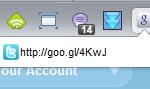 URL-Shortener fuer Chrome