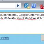TweetPage Google-Chrome Addon