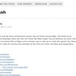 Twittersmash-com ein Twitterblog