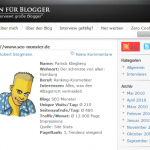 Blogger-Antworten mit Blogger-Interviews