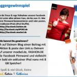 Gewinnspiel fuer Blogger bei Fashion-de