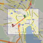 Entfernungsmesser in Google Maps