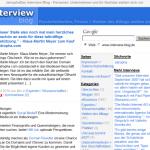 Interviews bei Interview-Blog-de