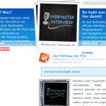Interviews fuer Webmaster