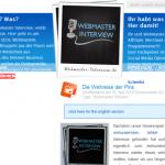 Interviews fuer Webmaster