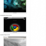 Google Chrome Themes by Crispytech