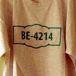 T-Shirt mit Facenumber