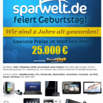 Gewinnspiel bei Sparwelt-de