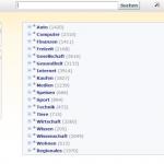 Webkatalog von 2Wid-net