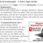 Blogparade und Gewinnspiel bei Tipps-Archiv-de