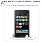iPod-Gewinnspiel