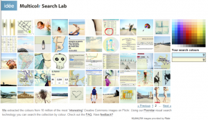 Suche mit MultiColr Search