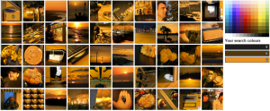 MultiColr-Suche nach Sunset-Bildern