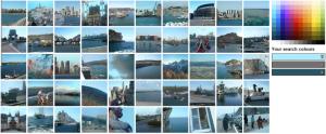 MultiColr-Suche nach Bildern mit Wasser oder Meer