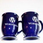 Wordpress-Kaffeetassen