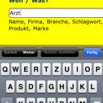 Mobil suche mit Branchenbuch AG