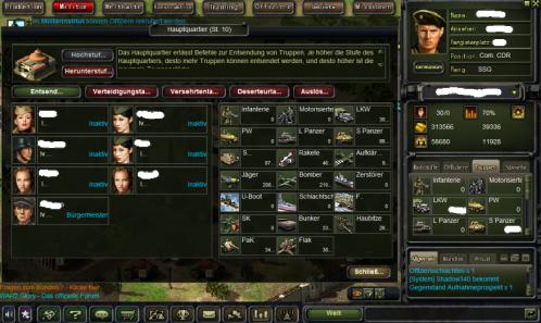 Hauptquartier in War2 Glory