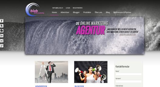 Blab.ch – ein neuer Anbieter in Sachen Blogvermarktung und Monetarisierung