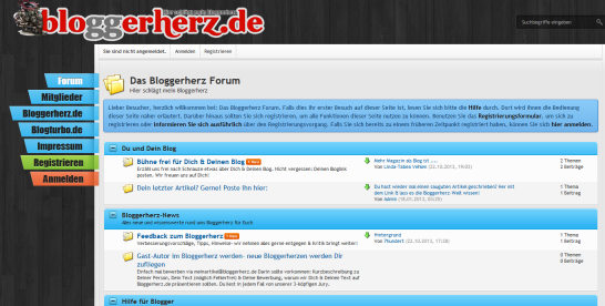 Bloggerherz.de-Forum