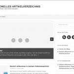 Artikelverzeichnis unter Internetblogger.org