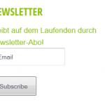 Newsletter fuer Internetblogger.de