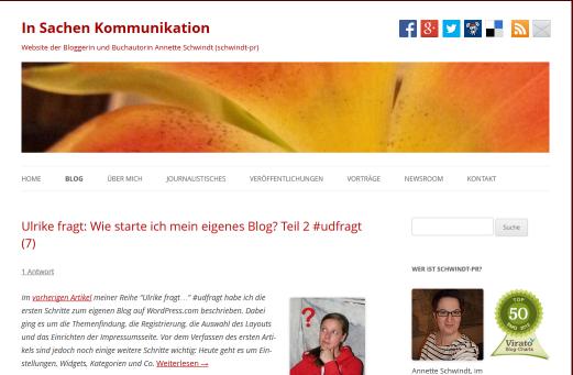 Schwindt-pr-Blog unter die Lupe genommen