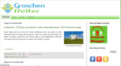 Blog Groschenreiter.de