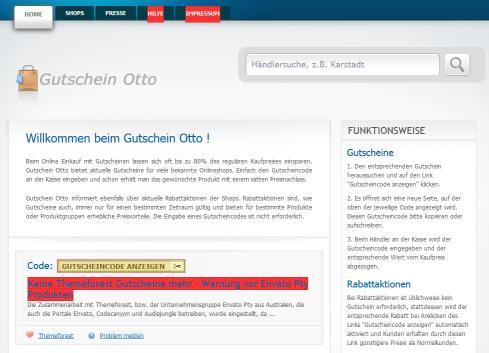 Gutscheine bei Gutschein-otto.net