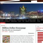 Blog Mannis-Shoutbox.de