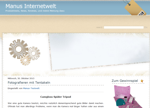 Blog Manus-testwelt.de