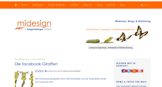 Blog Midesign.at