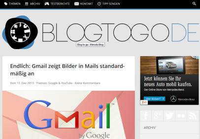 Blogtogo.de in der Vorstellung